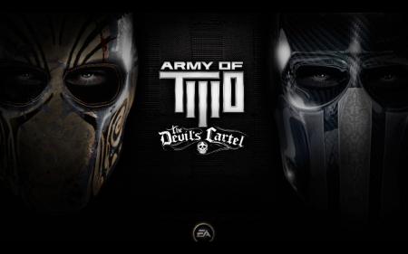 Logo del gioco Army of Two: The Devil's Cartel per Xbox 360