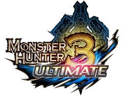 Logo del gioco Monster Hunter 3 Ultimate per Nintendo 3DS