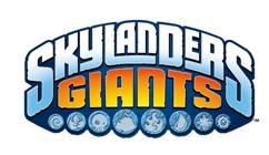 Logo del gioco Skylanders Giants per Nintendo Wii