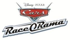 Logo del gioco Cars Race-O-Rama per Nintendo Wii