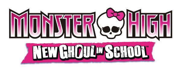 Logo del gioco Monster High: Una nuova Mostramica a Scuola per Nintendo Wii