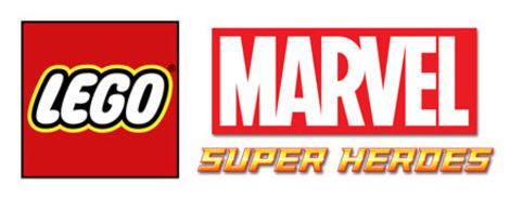 Logo del gioco LEGO Marvel Super Heroes per Nintendo Wii U