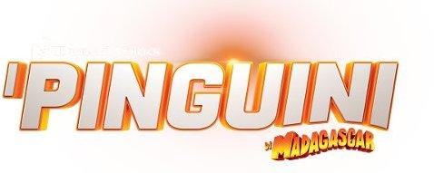 Logo del gioco I Pinguini di Madagascar per Nintendo Wii U