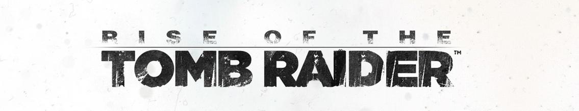 Logo del gioco Rise of the Tomb Raider per Playstation 4