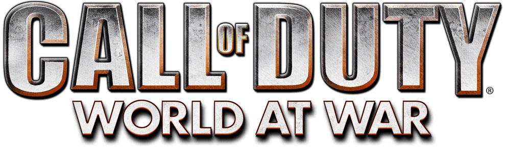 Logo del gioco Call of Duty: World at War per Playstation 3