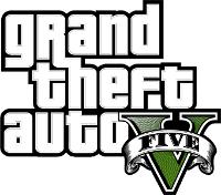 Logo del gioco Grand Theft Auto V - GTA 5 per Xbox 360