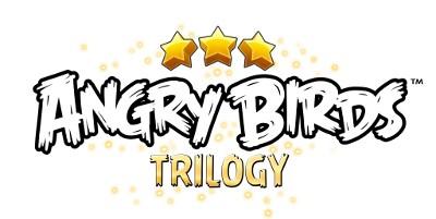 Logo del gioco Angry Birds Trilogy per Nintendo 3DS