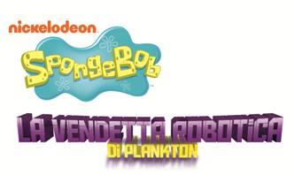 Logo del gioco SpongeBob SquarePants: La Vendetta Robotica di Plankton per Nintendo 3DS