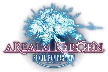 Logo del gioco Final Fantasy XIV: A Realm Reborn per PlayStation 4