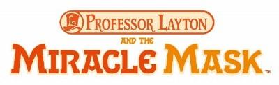 Logo del gioco Il Professor Layton la Maschera dei Miracoli per Nintendo 3DS