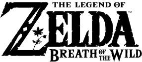 Logo del gioco The Legend of Zelda: Breath of the Wild per Nintendo Wii U