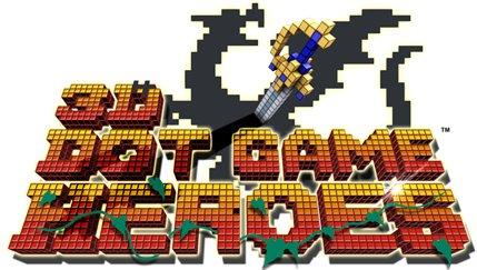Logo del gioco 3D Dot Game Heroes per PlayStation 3