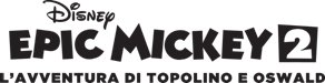Logo del gioco Epic Mickey 2: L'Avventura di Topolino e Oswald per PlayStation 3