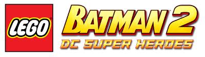 Logo del gioco LEGO Batman 2: DC Super Heroes per Nintendo Wii