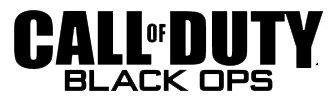 Logo del gioco Call of Duty Black Ops per Nintendo Wii