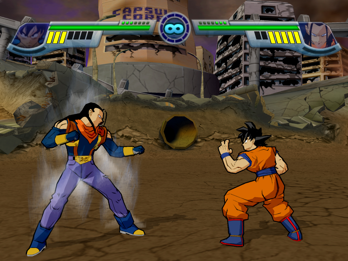 Dragon Ball Z : Infinite World versione Playstation 2 - Foto n.50/51