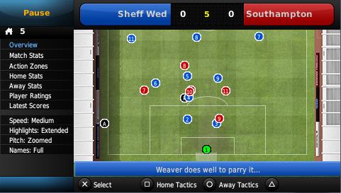 Football Manager Handheld 2012 per Playstation PSP